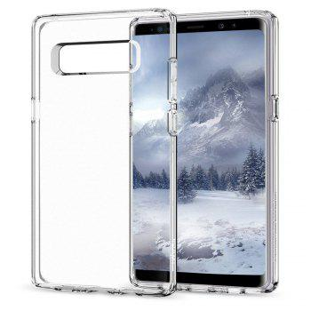 Slim Case Scratch Resistant Phone Tpu Cover for Samsung Galaxy Note 8 - TRANSPARENT