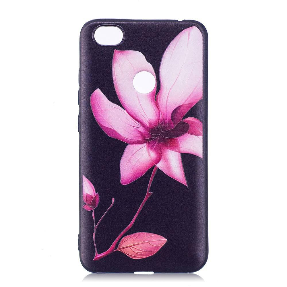 Painted TPU Phone Case for Redmi Note 5A - PINK