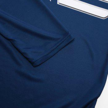 Men's Clothing Of Autumn 3D Printed T-shirts - BLUE S