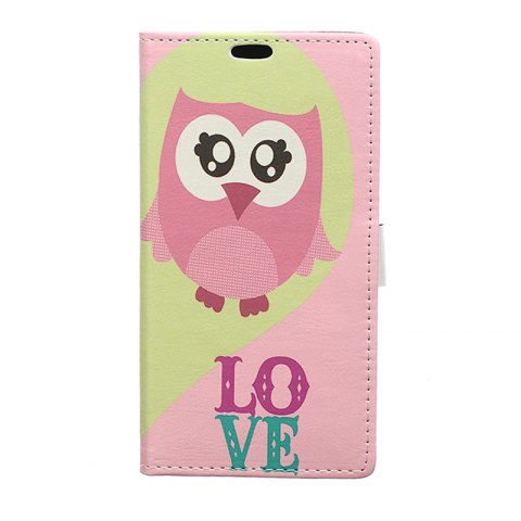 Wkae Vintage Classic Denim Texture Leather Case for Huawei Mate 10 Pro - PINK