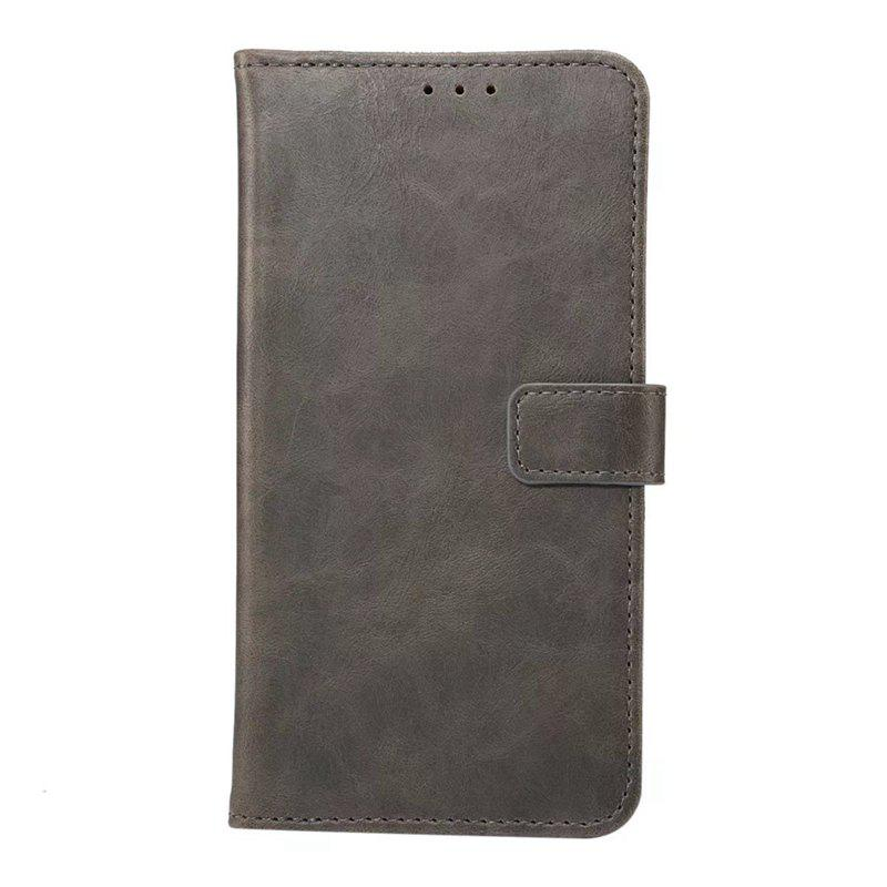 Wkae Crazy Horse Texture Leather Case Cover for Huawei Mate 10 Lite / Maimang 6 - GRAY