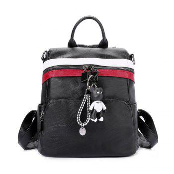 Women s Backpack All match Chic Solid