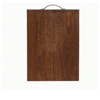 Suncha Thick Chicken Wing Square Root Board - BROWN BROWN