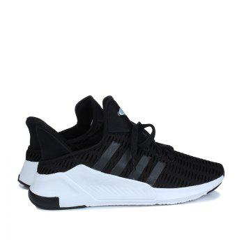 Men Leisure Fashion Running Shoes Breathable Walking Sneakers - BLACK 39