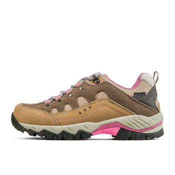 Hiking Shoes Low-cut Sport Shoes Breathable Hiking Boots Athletic Outdoor Shoes for Women - BROWN 39