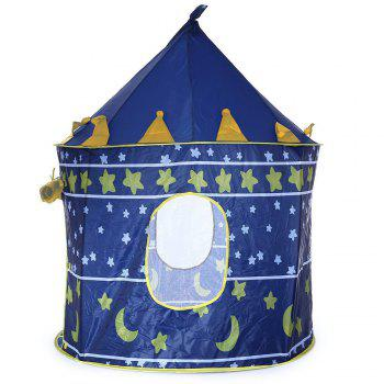Outdoor Indoor Children's Portable Blue Game Tent - BLUE BLUE