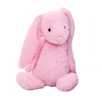 Cute Furry Rabbit Appease Toy Doll -  PAPAYA