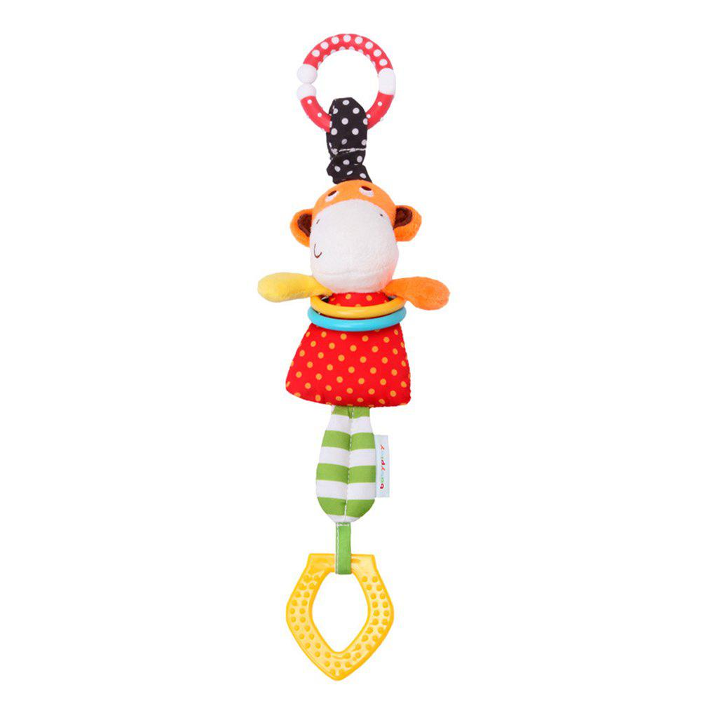 Cute Cartoon Monkey Car Hanging Bells - COLORMIX