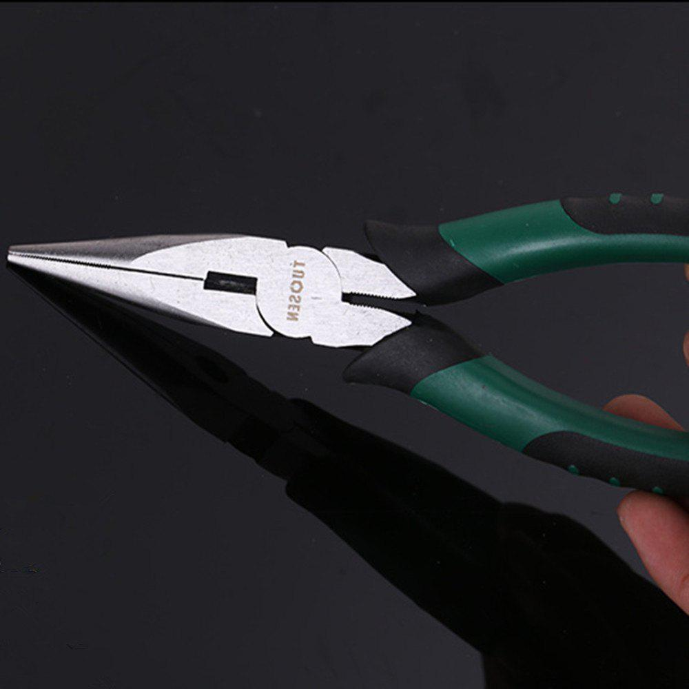 The 8 Inch Long Nose Pliers - COLORMIX SIZE:200 X 115 X 97 X 50MM