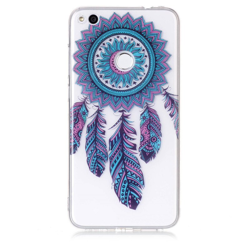 Dreamcatcher Pattern Soft TPU Anti-scratch Back Cover Case for Huawei P8 Lite 2 - multicolorCOLOR