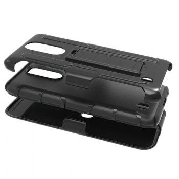 Shatter-resistant with Bracket Phone Case for LG LV5 -  BLACK