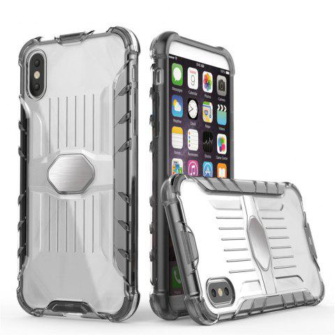 Armored Mobile Phone Shell Case for iPhone X - GRAY