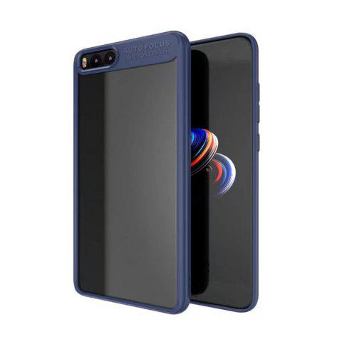 HD Clear Acrylic PC Back Soft Tpu Edge 2in1 Full Protective Shell Retail for Xiaomi Note 3 Case - BLUE