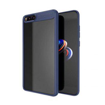 HD Clear Acrylic PC Back Soft Tpu Edge 2in1 Full Protective Shell Retail for Xiaomi Note 3 Case - BLUE BLUE