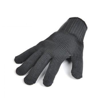 Stainless Steel Wire Safety Work Anti-slash Cut Static Resistance Protective Gloves Polyester Fistfight Riot Gear