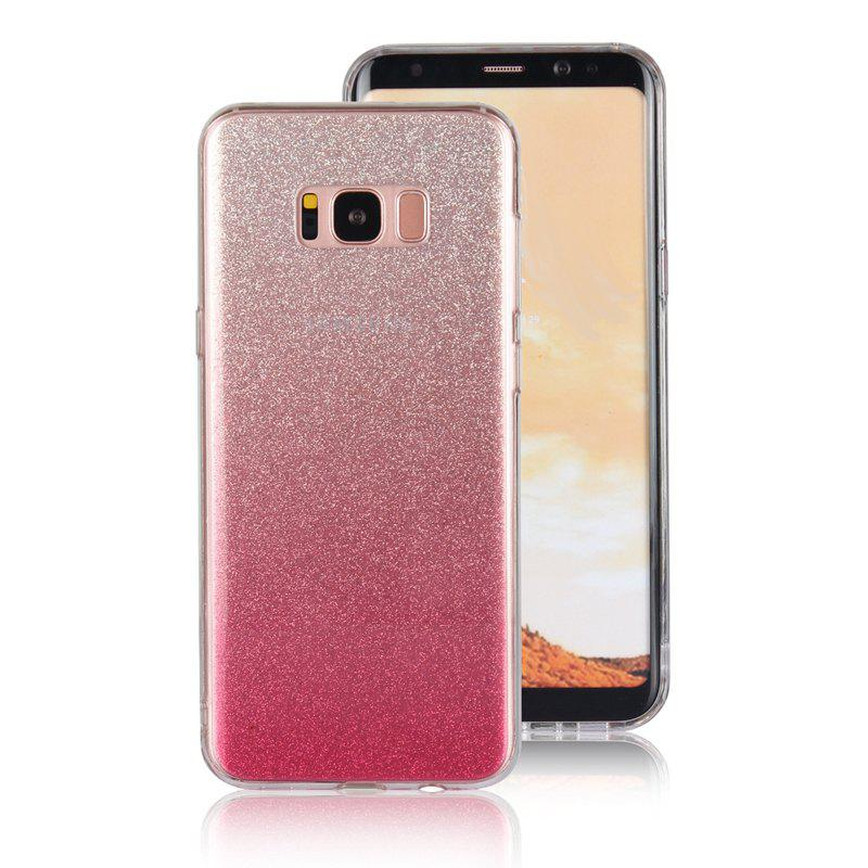 TPU Translucent Flash Shell for Samsung Galaxy S8 Plus - PINK