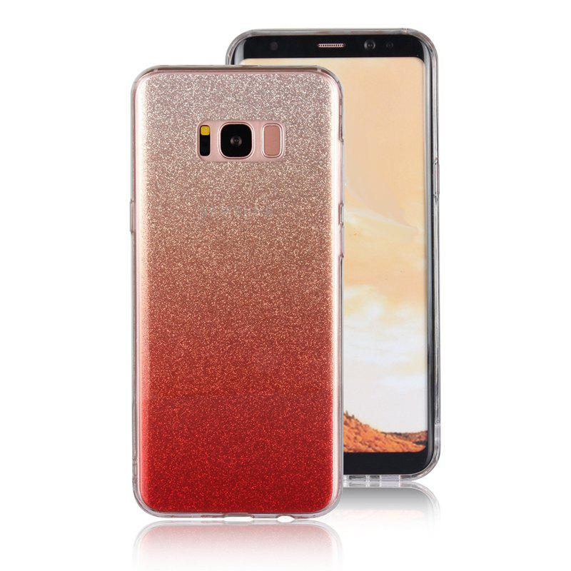 Coque Flash Translucide TPU pour Samsung Galaxy S8 Plus - Rouge
