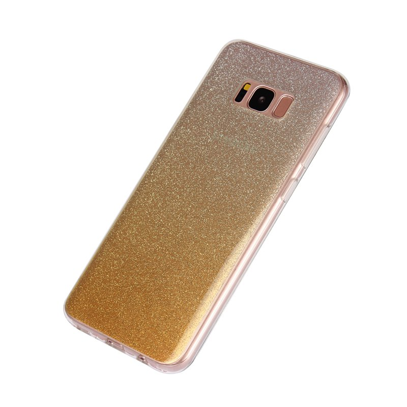 TPU Translucent Flash Shell for Samsung Galaxy S8 Plus - YELLOW