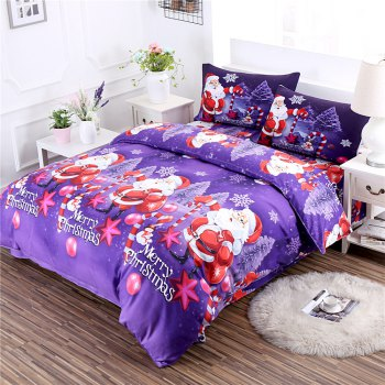 Merry Christmas Santa Claus Bedding Sets