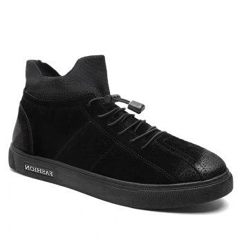 Autumn and Winter Pedal Breathable Sports Men's Shoes - BLACK BLACK