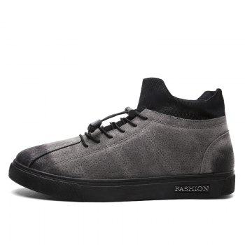 Autumn and Winter Pedal Breathable Sports Men's Shoes - GRAY GRAY