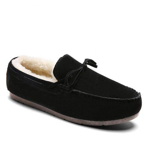Autumn Joker Casual Non-Slip Breathable Men'S Shoes - BLACK 39