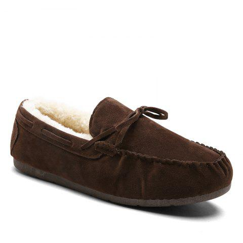 Autumn Joker Casual Non-Slip Breathable Men'S Shoes - BROWN 41