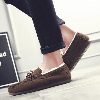 Autumn Joker Casual Non-Slip Breathable Men'S Shoes - BROWN 43
