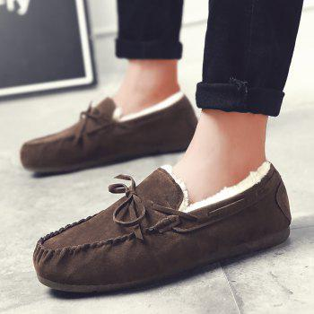 Autumn Joker Casual Non-Slip Breathable Men'S Shoes - BROWN 44