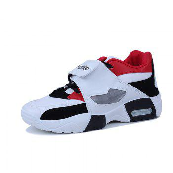 New Autumn Winter Men Shoes Casual Sneaker - RED 41