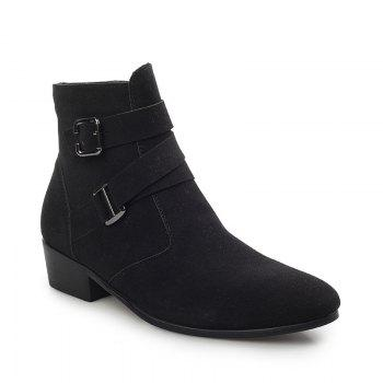 English Frosted High - Pointed Men'S Shoes