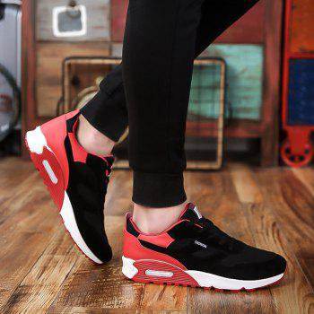 Men'S Shoes Fall Tide Shoesnew Running Sports Casual Shoe South Korean Version of The Student Board Shoes - RED RED