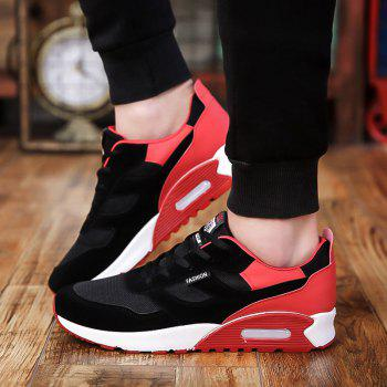 Men'S Shoes Fall Tide Shoesnew Running Sports Casual Shoe South Korean Version of The Student Board Shoes - RED 40