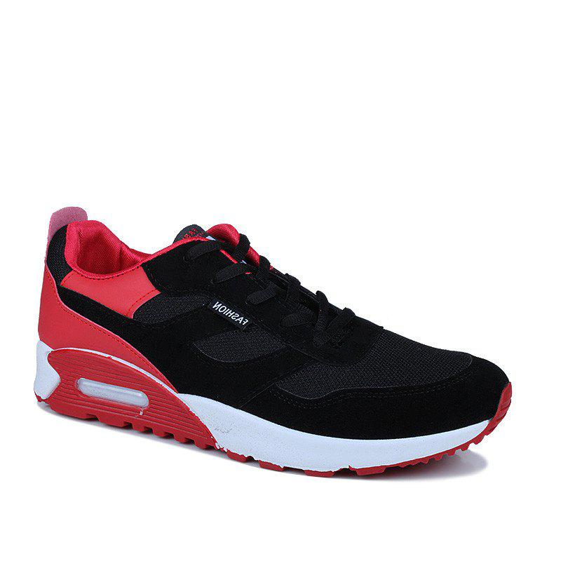 Men'S Shoes Fall Tide Shoesnew Running Sports Casual Shoe South Korean Version of The Student Board Shoes - RED 44