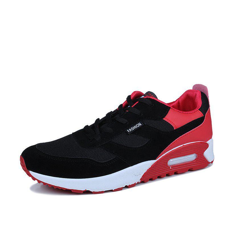 Men'S Shoes Fall Tide Shoesnew Running Sports Casual Shoe South Korean Version of The Student Board Shoes - RED 41