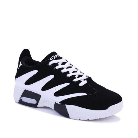 Men Hiking Shoes Outdoor  Sports Shoes - WHITE / BLACK 39