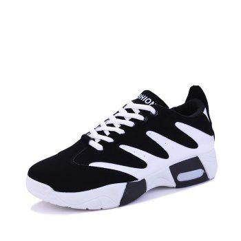 Men Hiking Shoes Outdoor  Sports Shoes - WHITE / BLACK 41