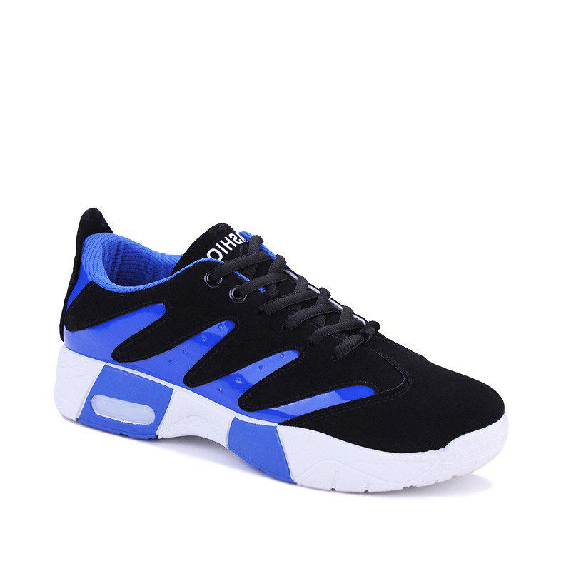 Men Hiking Shoes Outdoor  Sports Shoes - BLUE 43
