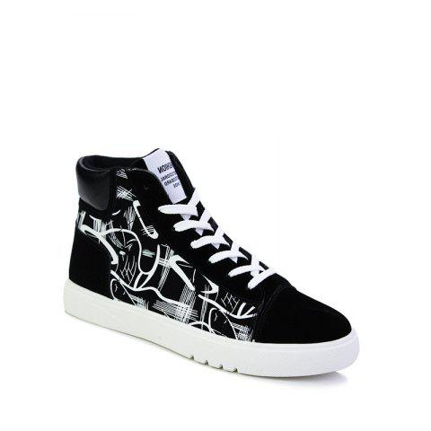 New Trendy Shoes Casual Canvas Shoes - BLACK 42