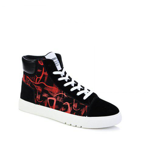 New Trendy Shoes Casual Canvas Shoes - RED 41