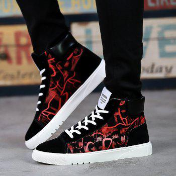 New Korean Version Trendy Shoes Casual Canvas Shoes - RED 39