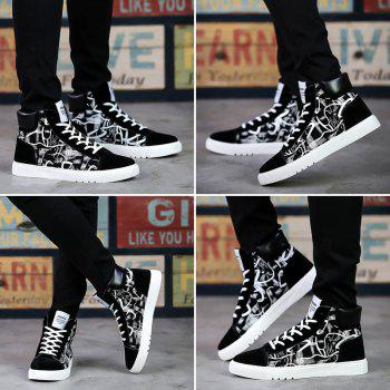 New Trendy Shoes Casual Canvas Shoes - BLACK 39
