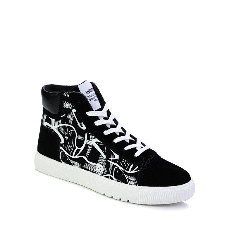 New Trendy Shoes Casual Canvas Shoes - BLACK 40