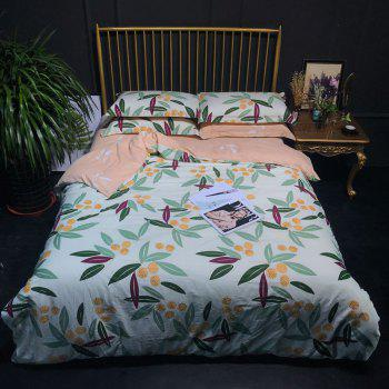 100 Percent Cotton Bed Linings Quilt and Sheet Sets - COLORMIX COLORMIX