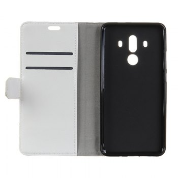 Wkae Vintage Crazy Leather Case for Huawei Mate 10 Pro - WHITE