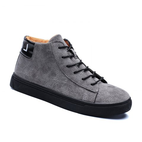Hot Style Shock Absorber Men Shoes - GRAY 42
