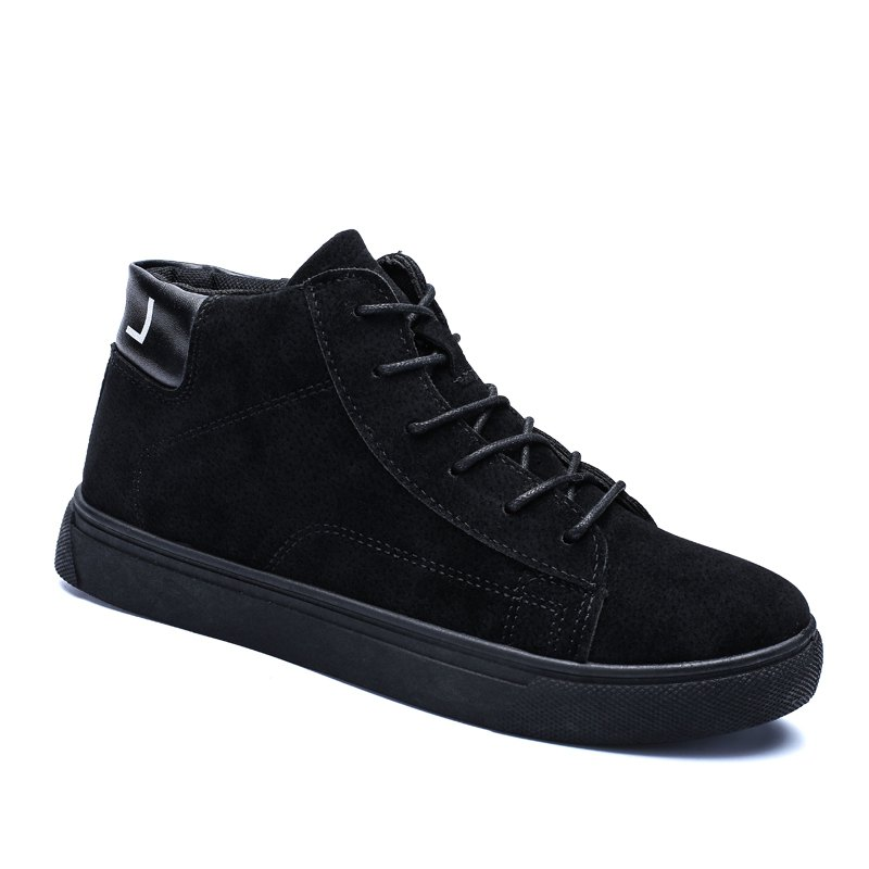 Hot Style Shock Absorber Men Shoes - BLACK 40