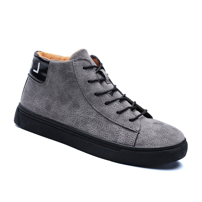 Hot Style Shock Absorber Men Shoes - GRAY 44