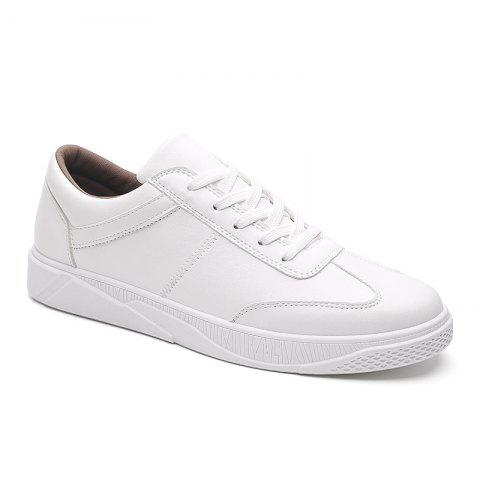Trendy Sports Casual Shoes - WHITE 42