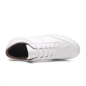 Trendy Sports Casual Shoes - WHITE WHITE